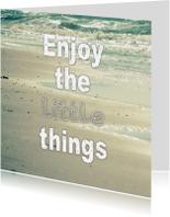 Spreukenkaarten - Spreukenkaart little things