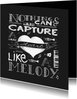 Spreukenkaarten - Spreukenkaart Melody - NA
