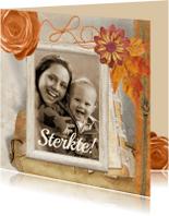 Sterkte kaarten - Sterkte collage met foto