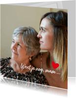 Sterkte kaarten - Sterkte herinnering moeder