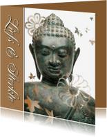 Sterkte kaarten - Sterkte kaart Buddha - liefs en sterkte - OT
