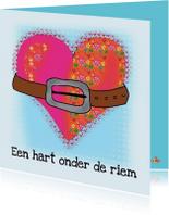 Sterkte kaarten - Sterkte kaart hart onder riem