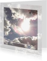 Sterkte kaarten - Sterkte - Zonnestraaltjes en Wolkenlucht