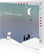 Sterkte kaarten - Sterktekaart ijsbeer en maan  IH
