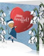 Sterkte kaarten - Sterktekaart Knuffel Winter - IH