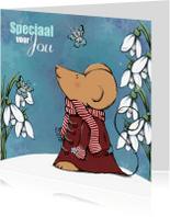 Sterkte kaarten - Sterktekaart Muis & Vlinder - IH