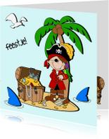 Kinderfeestjes - Stoer piratenfeestje!