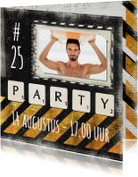 Uitnodigingen - Stoere uitnodiging verjaardag - SG