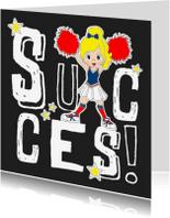 Succes kaarten - Succes cheerleader