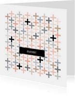 Succes kaarten - Succes kaart Plusjes - HB