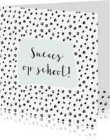 Succes kaarten - Succes kaart stippen Aanpasbare kleur - WW