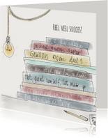 Succes kaarten - Succes kaartje illustratie