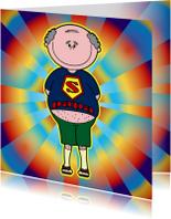 Vaderdag kaarten - Super PAPA vaderdag