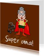 Opa & Omadag kaarten - Superoma!