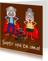 Opa & Omadag kaarten - Superopa en -oma!