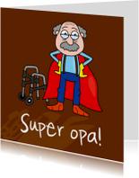 Opa & Omadag kaarten - Superopa!