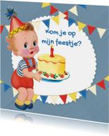 Kinderfeestjes - Taart en slingers