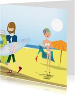 Vakantiekaarten - Take me to the beach