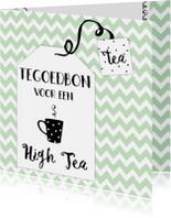 Uitnodigingen - Tegoedbon High Tea - WW