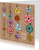 Bedankkaartjes - Thank You Flowers_Illu-Straver