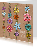 Bedankkaartjes - Thank You Flowers_Illu-Straver
