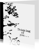 Condoleancekaarten - THINKING OF YOU