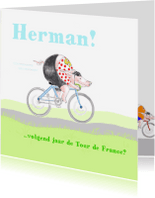 Wenskaarten divers - Tour de France