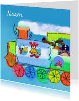 Kinderkaarten - Trein1111
