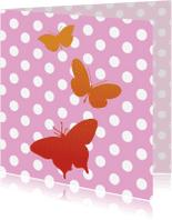 Dierenkaarten - Trio vlinders