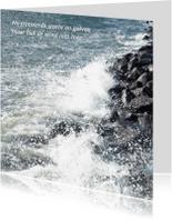 Condoleancekaarten - Trotseer de storm