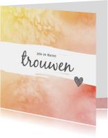 Trouwkaarten - Trouwkaart_Jelle_Rianne_SK