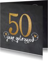 Jubileumkaarten - Uitnodiging 50 jubileum - LO