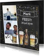 Uitnodigingen - Uitnodiging bier foto