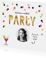 Uitnodigingen - Uitnodiging (cocktail) verjaardag party