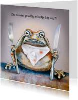 Uitnodiging etentje met Brompad