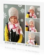 Kinderfeestjes - Uitnodiging foto's sneeuw
