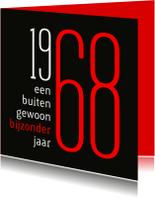 Uitnodigingen - Uitnodiging geboorte 1968 sara