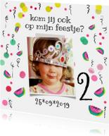 Kinderfeestjes - Uitnodiging kinderfeestje meloen