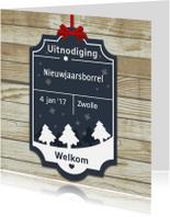 Uitnodigingen - Uitnodiging nieuwjaarsborrel ME