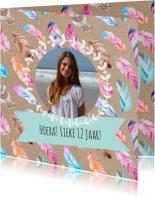 Kinderfeestjes - Uitnodigingskaart met foto