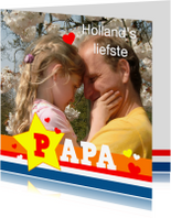 Vaderdag kaarten - Vaderdag Hollands Liefste