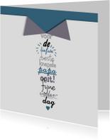 Vaderdag kaarten - Vaderdag stropdas JVT