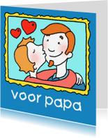 Vaderdag kaarten - Vaderdagkaart voor Papa