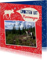 Vakantiekaarten - Vakantiegroeten uit Noorwegen met eigen foto's
