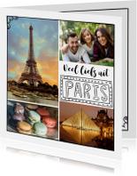 Vakantiekaarten - Vakantiekaart, liefs uit Paris