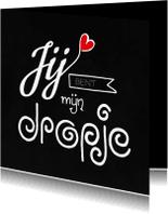 Valentijnskaarten - Valentijn dropje
