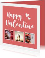 Valentijn - happy valentine met foto