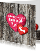 Valentijnskaarten - Valentijn harten liefde eigen tekst