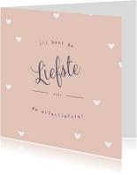 Valentijnskaart liefste - HM