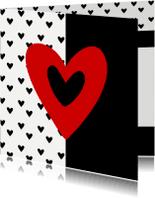 Zomaar kaarten - Valentijnskaart valentijns hart